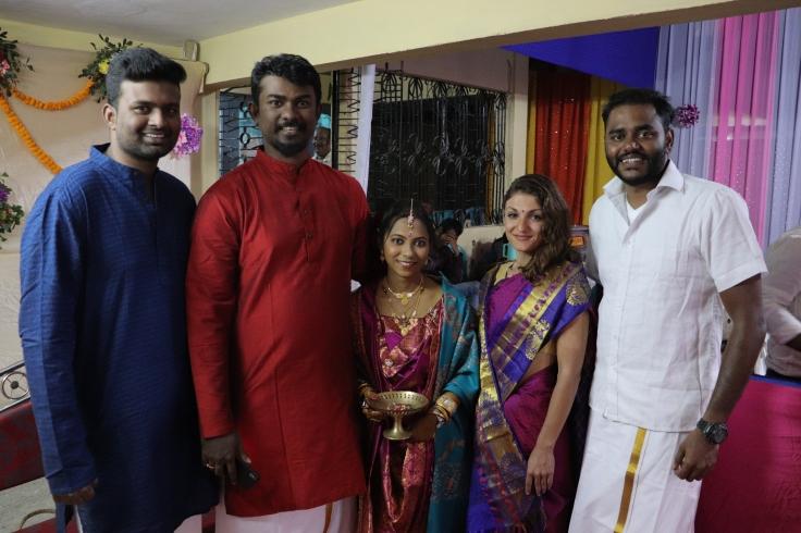 Aaditya, Dinesh, Pandian, yeliz and me