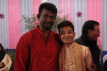 Aaditya with Babu