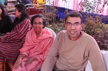 Ajit and Uma Juron
