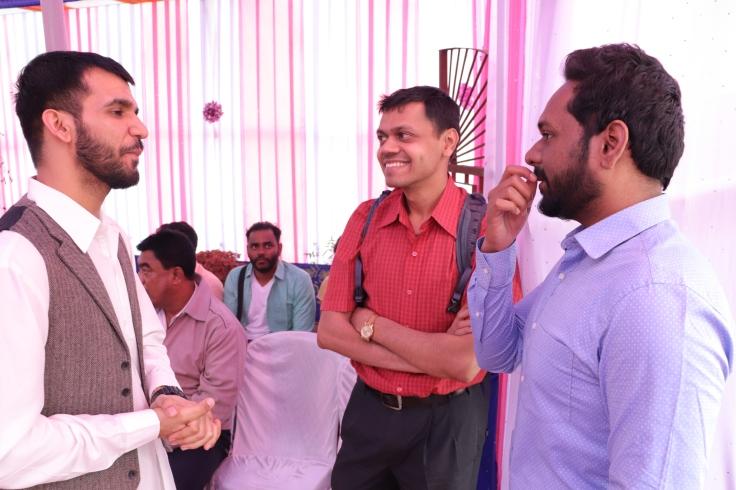 Pulak, Ankur and Sam