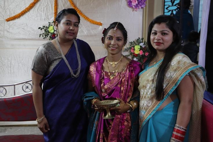 Purva, Shalini and me