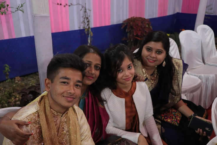 Sabiha, Rituraj and my cousins