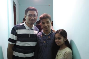 Udipta, Babu and Layanika