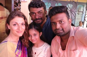 Yeliz, Dinesh, Aaditya and Layanika