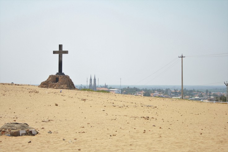 15. The cross from Jeruselam in Manapad